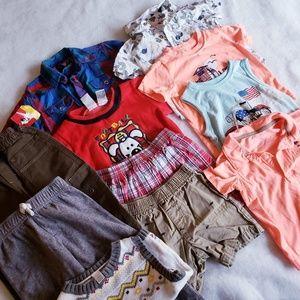 18 months boy's clothing bundle/lot